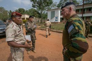CENTRAFRIQUE / Général de brigade Herman Ruys: « Les Forces armées centrafricaines font face à des défis gigantesques »