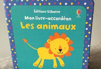 """Nouveauté - Mon livre - accordéon """" Les animaux """"-"""