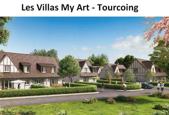 Tourcoing (59200) – Les Villas My Art - My House