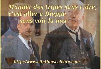 Phrase culte dans le film LE TATOUÉ avec Louis de Funès, Jean Gabin, Paul Mercey ...