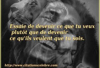 Citation de Bob Marley