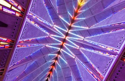 Cadet Chapel, United States Air Force Academy, Colorado Springs, Colorado USA