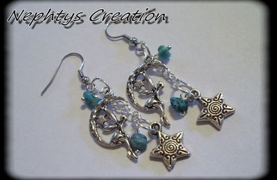Paire de boucles d'oreille de la collection Terra Vénalia