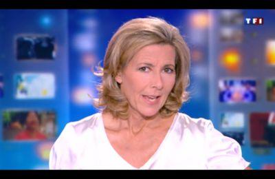 [2012 07 06] CLAIRE CHAZAL - TF1 - LE 20H @20H00