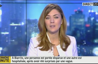 2014 01 05 - 20H21 - FLORENCE O'KELLY - ITELE - INTEGRALE WEEK-END