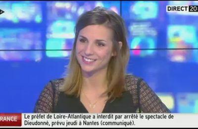 2014 01 07 - ALICE DARFEUILLE - ITELE - 100% INFO