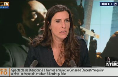 2014 01 09 - NATHALIE LEVY - BFM TV - INFO 360