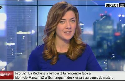 2014 01 12 - FLORENCE O'KELLY - ITELE - INTEGRALE WEEK-END