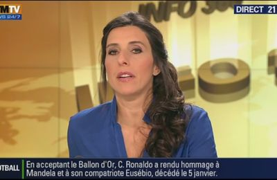 2014 01 13 - NATHALIE LEVY - BFM TV - INFO 360