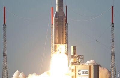 Ariane 5 ECA (Intelsat 20 et Hylas 2)