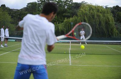 Middle sunday, 12h à Wimbledon.