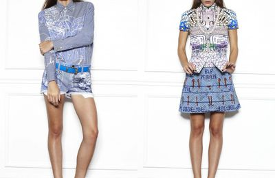 Current/Elliott x Mary Katrantzou 2013 Spring Womens Collection