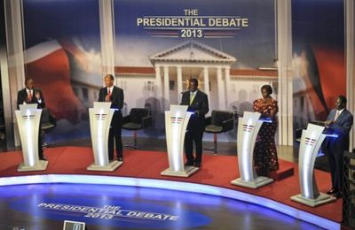 Land and Corruption Heats Up Final Presidential Debate in Kenya