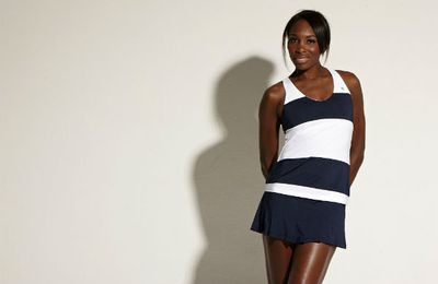 Venus Williams has her sport wardrobe all lined up