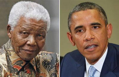 Barack Obama Africa trip overshadowed by Nelson Mandela