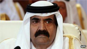 {News} Qatari emir Sheikh Hamad 'to hand power to son'