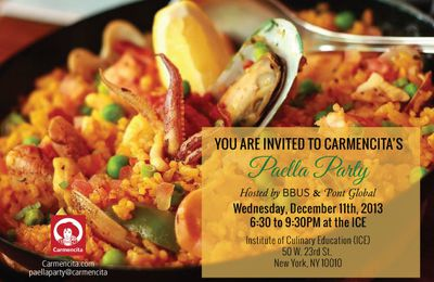 Bisila Bokoko & Pont Global to host a cocktail style Paella Party for Carmencita  in New York