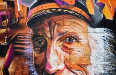 Tags, graffitis  en ville , au hasard des rencontres