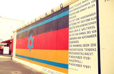 Travelling to Berlin - East Side Gallery - May 2012
