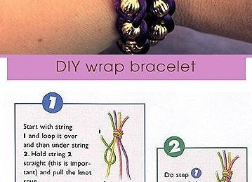 How to DIY a simple stylish braided bracelet
