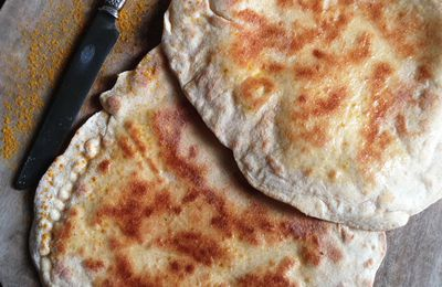 ▲ Cheese naan de Bollywood ▲