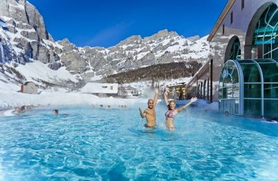 Leukerbad, sci e terme d'alta quota in Svizzera