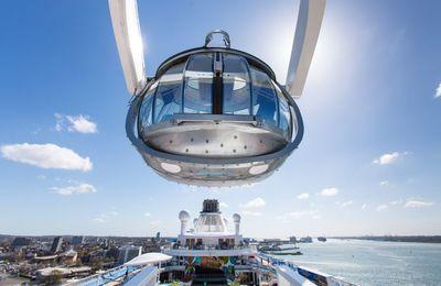 Saliamo a bordo di Ovation of the Seas, la smartship di Royal Caribbean International