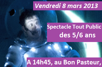 MJC de Metz Borny : spectacle Space Man le vendredi 8 mars