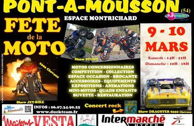 Pont-à-Mousson Fête de la Moto les 9 et 10 mars 2013
