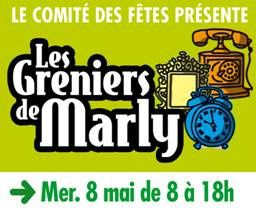 Marly village : Brocante le 8 mai 2013