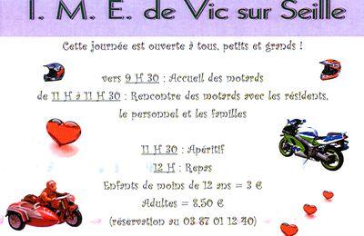 Vic-sur-Seille : Journée Moto le 09 juin 2013