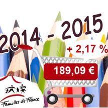 Familles de France Rentrée Scolaire 2014-2015 Les Chiffres