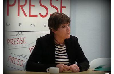 Metz Petit déjeuner de presse avec Anne GROMMERCH