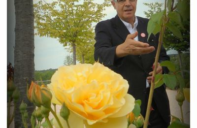 Ahmed DJOGHLAF aux Jardins Fruitiers de Laquenexy