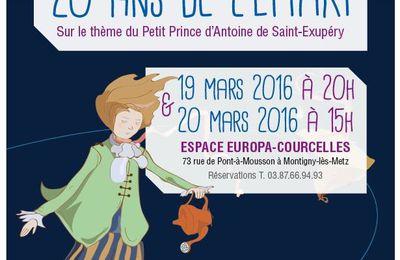 Montigny-lès-Metz CONCERT Anniversaire des 20 ans de l'EMARI les 19 et 20 mars 2016