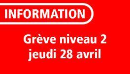Réseau LE MET' Grève Nationale - Service garanti de niveau 2