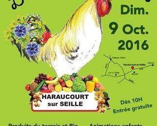Haraucourt-sur-seille 4ème édition de Fête des plantes le 9 octobre 2016
