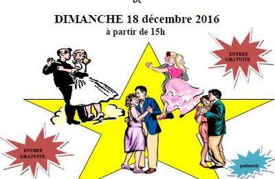 Chesny The Dansant de Noël le 18 décembre 2016