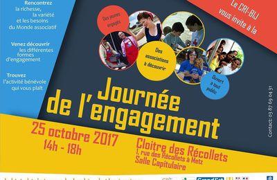 Metz Journée de l'engagement au Cri-Bij Moselle le 25 octobre