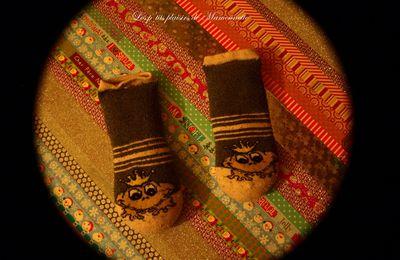 Des chaussettes et du riz !!