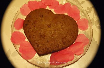 Fondant au chocolat pour la Saint Valentin