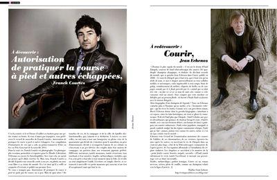 Luxuriant - Franck Courtès vs Jean Echenoz