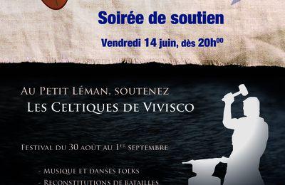 Les Celtiques de Vivisco au Petit Léman, Vevey : soirée de soutien