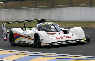 Histoire de course : Peugeot au Mans