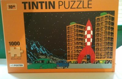 Puzzle Tintin 1000 pieces