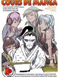 Les prochains cours de manga de juin!