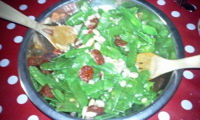 Salade d'été au chorizo