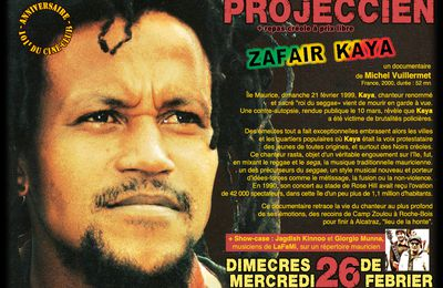 "26/02/14 - Projection ""Zafair Kaya"" - Marseille"