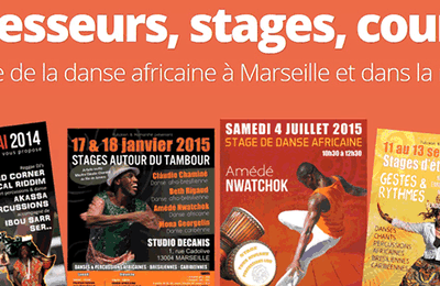 Stages de danse africaine à Marseille