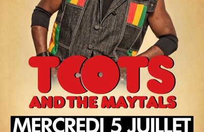 05/07/17 - TOOTS & THE MAYTALS - Marseille